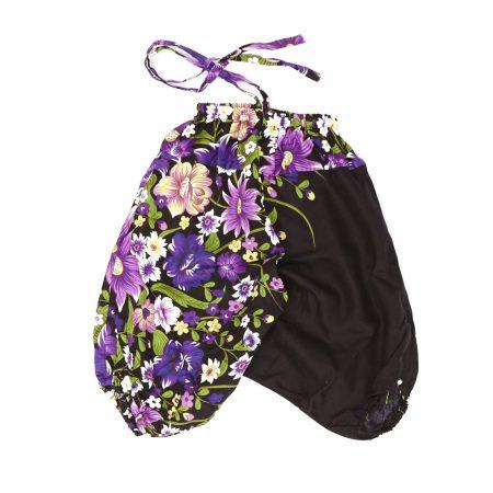 Zomer Baggy voor meisjes flower paars