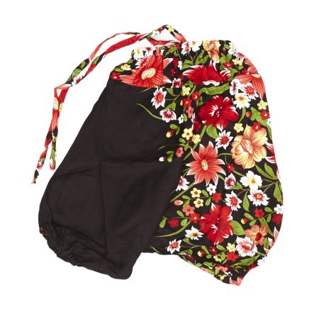 Zomer Baggy broek flower-rood