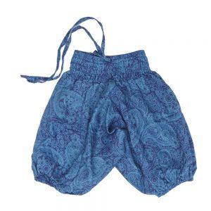 Zomer Baggy voor meisjes paisley blauw