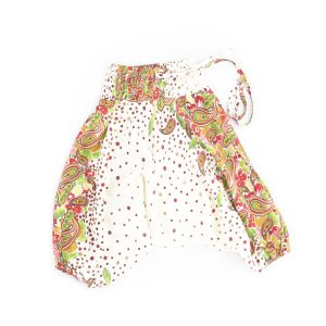 Zomer Baggy voor meisjes dotty offwhite