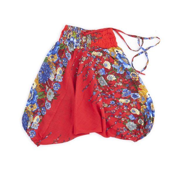 Zomer Baggy broek poppy-rood