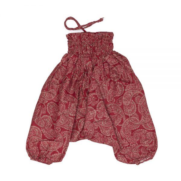 Zomer Baggy voor meisjes paisley rood