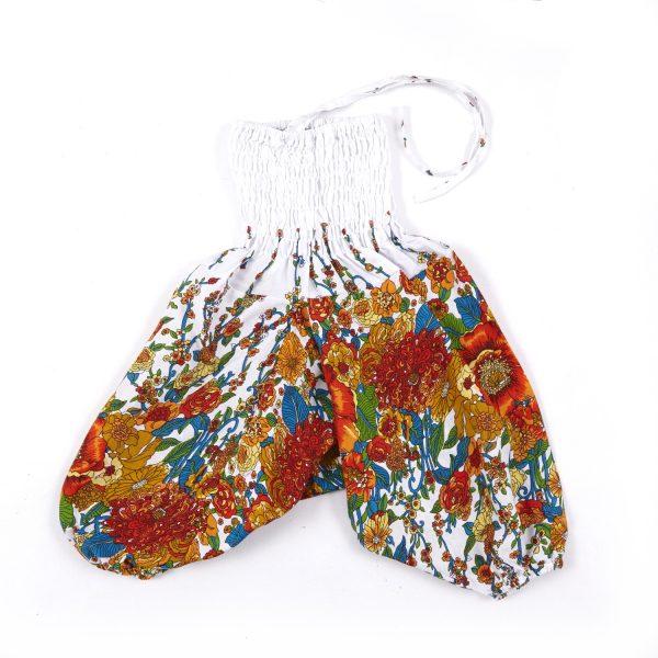 Zomer Baggy broek poppy-oranje