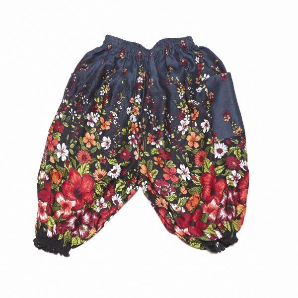 zomer broek poppy antiekblauw